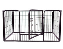 2016 hot sale Puppy Playpen with floor and plastic pan