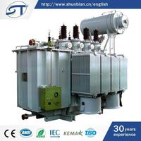 3 Phase Electrical Equipment Attractive Style Oil Immersed Type Standard Transformer Kva Ratings