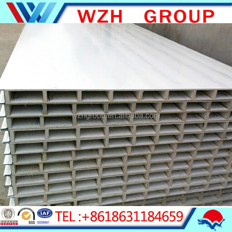 Fireproof insulation hollow board mgo wall panel buy mgo for Fireproof wall insulation