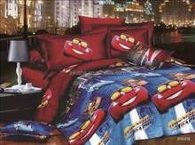New arrival cheap twin kids 3d cartoon bed luxury bamboo sheet set
