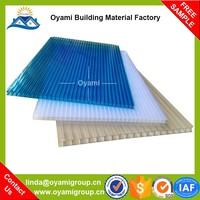Double layer uv coated uv-coating polycarbonate