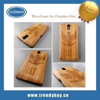 Natural Bamboo Wood case for oneplus one