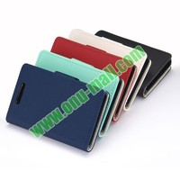 Litchi Texture Flip Leather Wallet Case Cover for NOKIA Asha 501