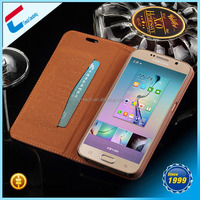 NEW ! ! ! Real leather Cowboy flip leather case for galaxy s6 ,unique design for galaxy s6 real leather case with custom logo