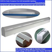 ONN-J01 600mm 1200mm Teardrop Cleanroom Light Fittings / Dust-proof Led Light Fixture / Tear Drop Light
