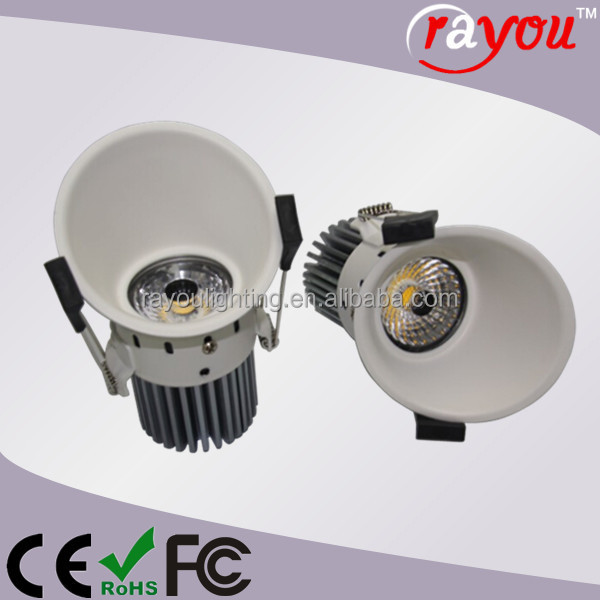 how to change from large downlight to small