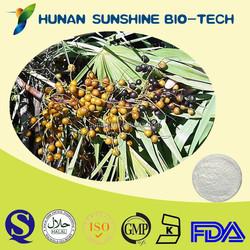 Cosmetic Raw Material Antioxidant Saw Palmetto Fruit P.E.