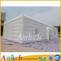 Hot White Outdoor Big Cube Inflatable Tent for Winter
