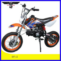 110CC kids mini gas motorcycles with CE (D7-12)
