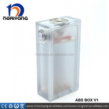 18650 battery acrylic clear box mod abs mod factory directly price hot selling acrylic mod