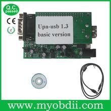 Nuevo vendedor para upa v1.3.0.14 usb de serie del programador completa con adaptadores--- precio más bajo