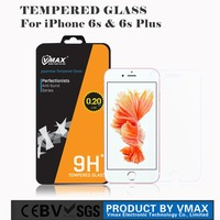New Arrival import mobile phone accessories for iPhone 6s plus tempered glass screen protector oem/odm (Anti Glare)