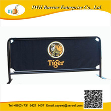 Customized dimensions are accepted,shop metal brochure display cafe barriers