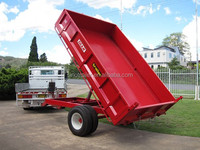 5 tons 2 wheels tractor trailer for farm