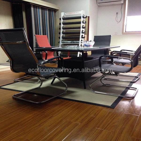 Plastic tapijt voor stoel protector anti scratch mat en tapijt voor bureaustoel kunststof - Eigentijdse high end tapijten ...