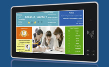 OEM ODM 21.5'' Touch screen time attendance for school management