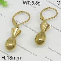 Best Selling Design gold zircon chandelier earrings