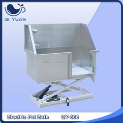 Pet Grooming Kit Stainless steel electric lifting bathtub,dog bathtub,pet bathtub QY-806