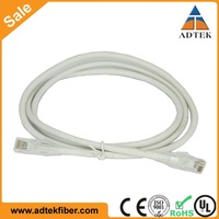 UL Listed 26AWG 24AWG Stranded Cat6 Copper Patch Cable RJ45 to RJ45