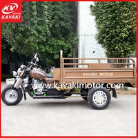 Guangzhou manfacturer supply cargo bike motorized big three wheel tricycle/ motorcycle for adult made in China