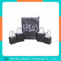 Customized new products style paper gift bag for packing
