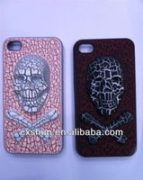 New Cracked skull shell fit for iphone 5