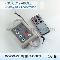 new invention 2013! 6-Key Infrared LED Controller with CE&RoHS certificate