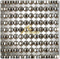 Hanging door metal ball strings curtain with good quality and best price