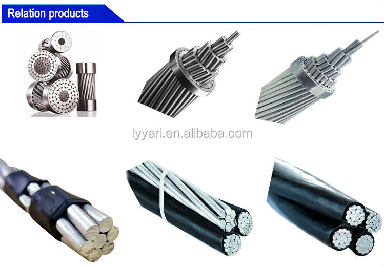 aluminum conductor steel reinforced ACSR conductor