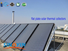 2015 hot sale flat plate solar water heater collector, solar collector newest prices