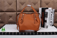Newest brown top brand leather handbags women totes C2-50 fast shipping dropship
