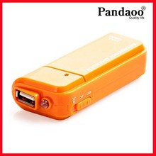 Portable AA Battery Emergency USB Charger With Flashlight