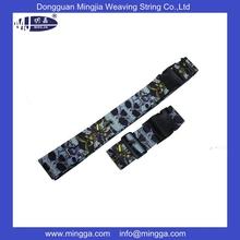 plastic detachable buckle suitcase lock luggage belt for wholesale