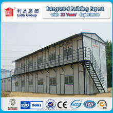Durable and safe 2 floors prefab labor camps