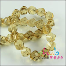 Wholesale Faceted Crystal Connected Chains Twist Beads