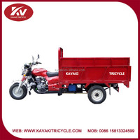 high carriage box 250cc gas motor tricycle/can be rubbish vehicle/garbage truck