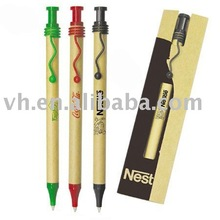 New style recycled paper pen