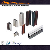 Good quality professional high-grade aluminum edge banding extruded
