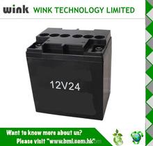 Promotional Back up 12v 24ah metal Plastic Battery Storage Case