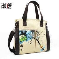 Sling Shoulder Canvas Ladies Fancy Bags