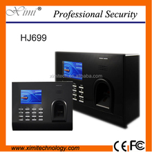 HJ699 fingerprint time attendance with software with RFID and camera fuction