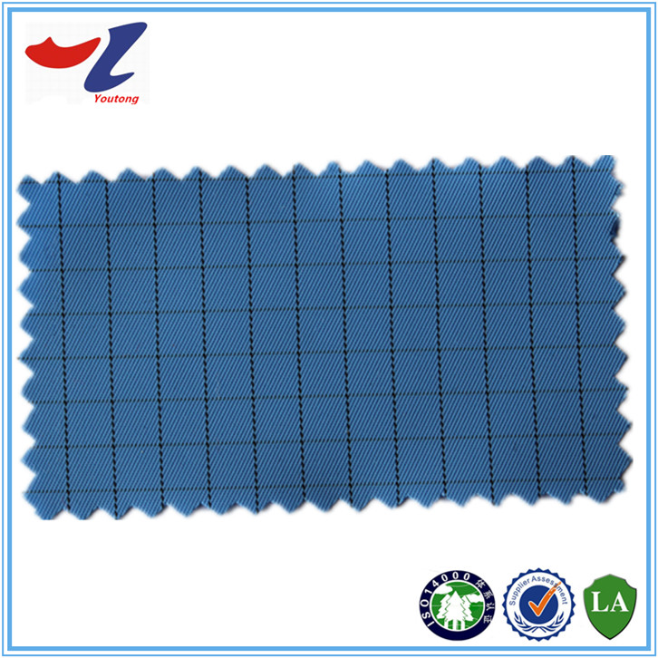 Anti Static Fabric : Grid conductive fiber esd anti static fabric buy