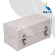 Saipwell rápido oferta SP-002-381913 380 * 190 * 130 MM ip66 ABS caja eléctrica caja con cierre de metal