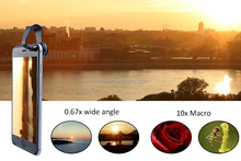 3 in 1Set Smart Mobile Phone Camera Lens 180 Degree Fish Eye Lens + Wide Angle + Micro Lens Kit for All Kind of Smart Phone