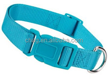 royal blue nylon dog collar with side release buckle