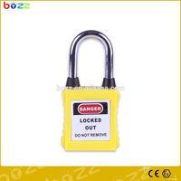 brass padlock with hardened steel padlock bolt alloy steel padlock