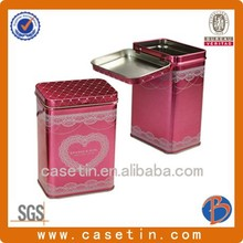 metal containers with lids/large tin cans/metallic box
