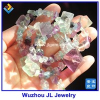 FLUORITE Octahedron Collection Nacklace Natural Crystals Healing