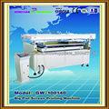 Máquina de impresión de gran formato semi automáticas de cristal vacío