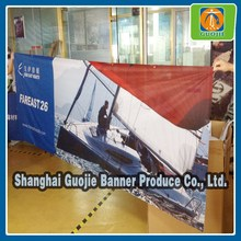 cheap hot sublimation printing fabric street banner in 2015